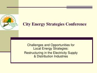 City Energy Strategies Conference
