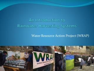 An Introduction to  Rainwater Harvesting Systems
