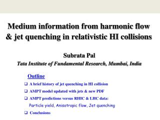 Medium information from harmonic flow & jet quenching in relativistic HI collisions