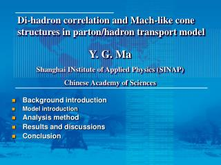 Di-hadron correlation and Mach-like cone structures in parton/hadron transport model