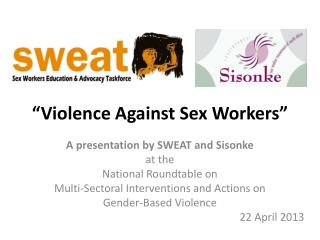 �Violence Against Sex Workers�