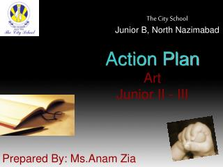 Action Plan Art Junior II - III