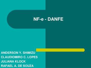NF-e - DANFE