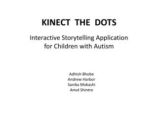 KINECT  THE  DOTS