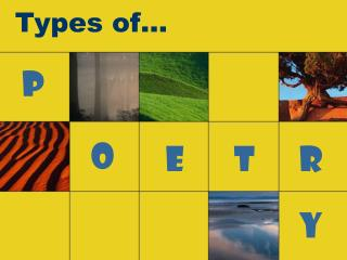Types of…