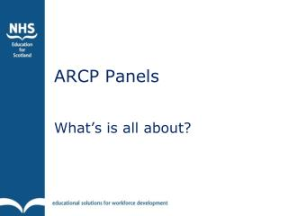 ARCP Panels
