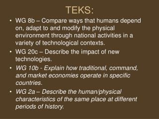 TEKS: