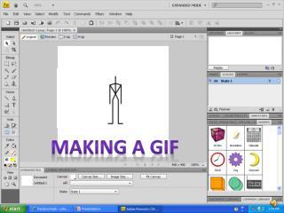 MAKING A GIF