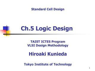 Ch.5 Logic Design
