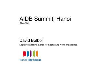 AIDB Summit, Hanoi