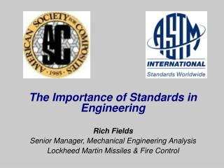 The Importance of Standards in Engineering