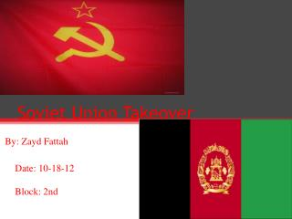 Soviet Union Takeover