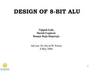 DESIGN OF 8-BIT ALU