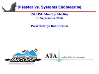 Disaster vs. Systems Engineering