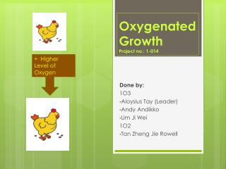 Oxygenated Growth Project no.: 1-014