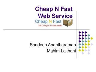 Cheap N Fast Web Service
