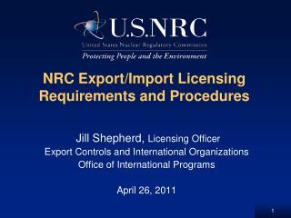 NRC Export