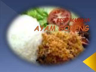 resep makanan