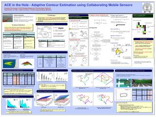 ACE in the Hole - Adaptive Contour Estimation using Collaborating Mobile Sensors