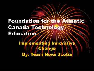 Foundation for the Atlantic Canada Technology Education