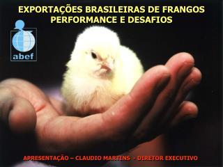 EXPORTA��ES BRASILEIRAS DE FRANGOS PERFORMANCE E DESAFIOS