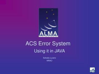 ACS Error System