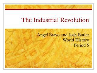 The  I ndustrial Revolution