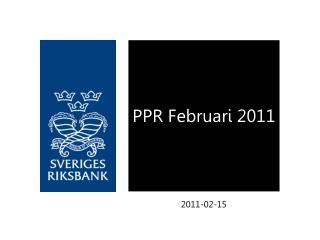PPR Februari 2011