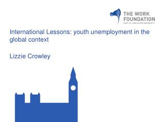 International Lessons: youth unemployment in the global context