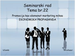 Seminarski rad Tema br.22