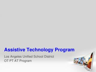 Assistive Technology Program