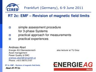 simple assessment procedure  	for 3-phase Systems  	practical approach for measurements