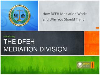 How DFEH Mediation Works  and Why You Should Try It
