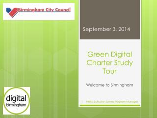 Green Digital Charter Study Tour