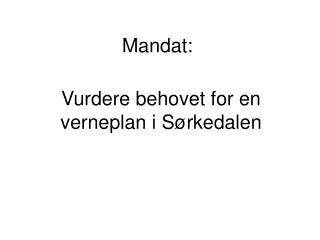 Mandat:
