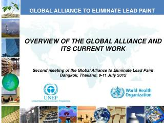GLOBAL ALLIANCE TO ELIMINATE LEAD PAINT