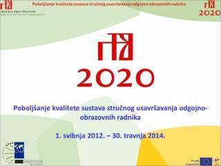 Poboljšanje kvalitete sustava stručnog usavršavanja odgojno-obrazovnih radnika