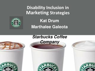 Disability Inclusion in  Marketing  Strategies