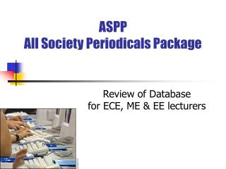 ASPP  All Society Periodicals Package