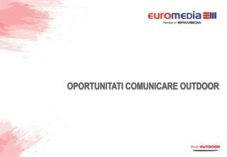 OPORTUNITATI COMUNICARE OUTDOOR