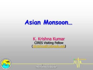 Asian Monsoon�