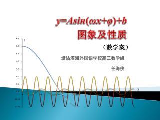 y= Asin ( ωx+φ ) +b 图象及性质