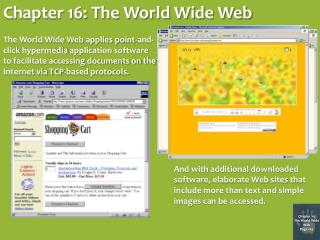 Chapter 16: The World Wide Web