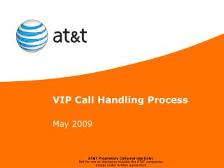 VIP Call Handling Process