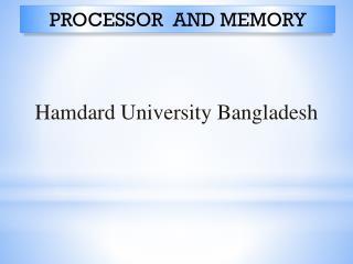 Hamdard University Bangladesh