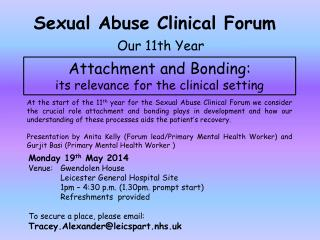 Sexual Abuse Clinical Forum