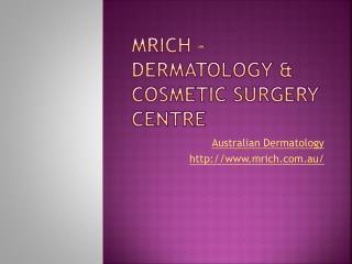 Botox Melbourne - Mrich.com.au