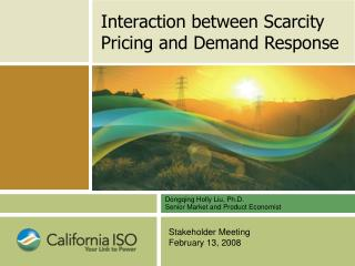 Interaction between Scarcity Pricing and Demand Response