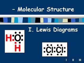 I. Lewis Diagrams