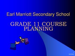 Earl Marriott Secondary School